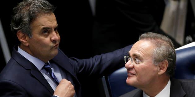 Senadores como Aécio Neves (PSDB-MG) e Renan Calheiros (PMDB-AL) têm ações penais no STF.