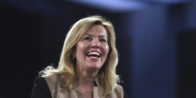 Christine Elliott made her first major speech as minister on Thursday.