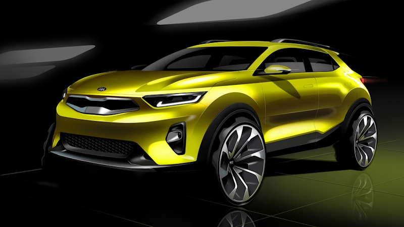 kia stonic is a compact crossover with a weird name - autoblog