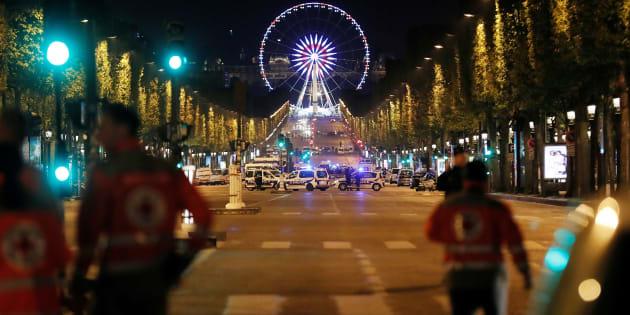 Un homme mis en examen et écroué dans l'enquête de l'attaque des Champs Elysées.