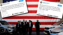Ces tweets sur l'emploi dans l'automobile que Trump va regretter avec l'ouverture du Salon de