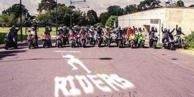 Kamikaze Riders  quel est ce groupe de motards belges en lien avec ... 91e8ae21723