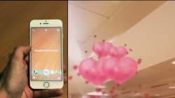 Ces nouveaux filtres Snapchat décorent l'environnement en réalité