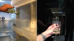 Transformer son frigo en distributeur de vin. Super idée ou