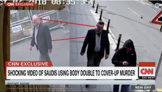 Saudi Operative Seen Wearing Jamal Khashoggi's Clothes After Killing: