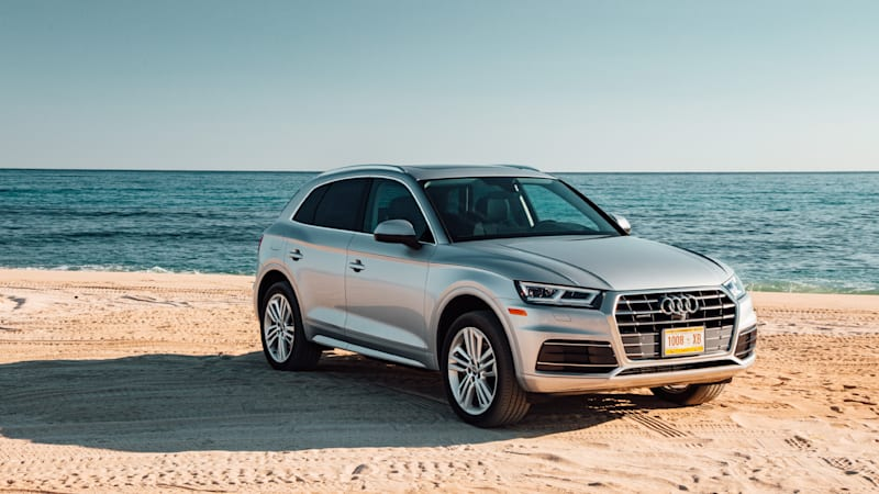 2018 audi q5 pricing a redesigned crossover autoblog. Black Bedroom Furniture Sets. Home Design Ideas