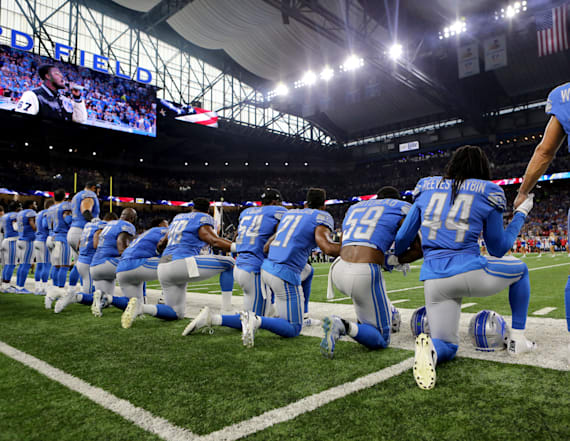 NFL doubles down on criticism of Trump's comments