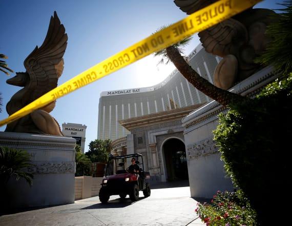 'Missing' Vegas guard shot by gunman breaks silence