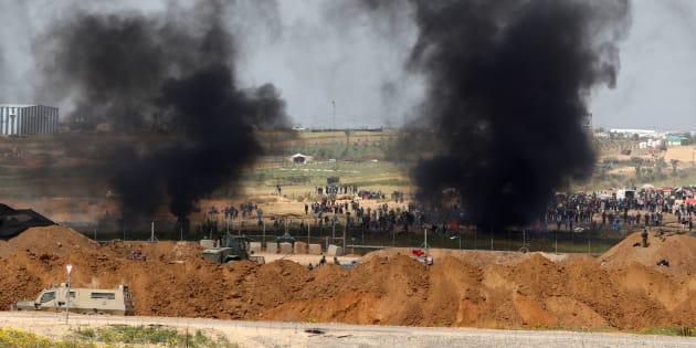 """Nuovi scontri al confine tra Gaza e Israele per la seconda """"Marcia del Ritorno"""" proclamata da Hamas"""