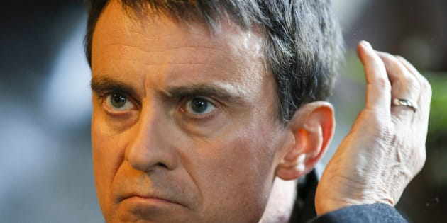 Manuel Valls à Villeurbanne au mois de janvier.
