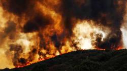 Les images de l'impressionnant incendie du Mendocino Complex en