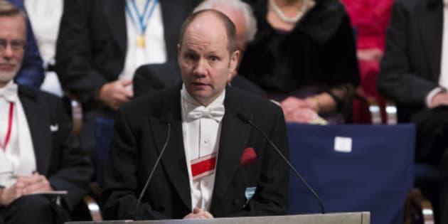 Peter Englund, secretario permanente de la Academia Sueca entre 2009 y 2015.