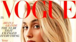 Ariana Grande méconnaissable en couverture du Vogue