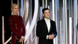 El momento incómodo de Rami Malek con Nicole Kidman en los Golden