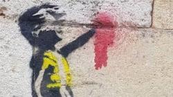 Des gilets jaunes s'interrogent sur un soutien de Banksy après la découverte de ce