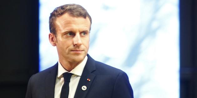 Ce qui m'a poussé à me mettre dans la peau d'Emmanuel Macron.