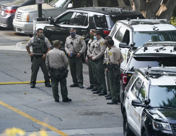 1 of 2 L.A. deputies out of hospital after ambush