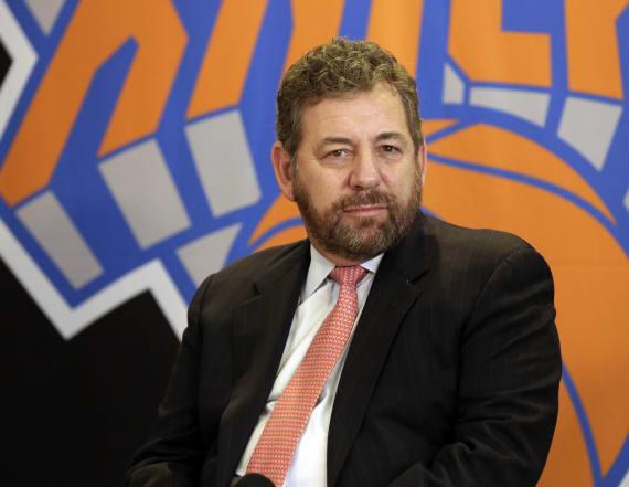 Knicks owner tests positive for coronavirus