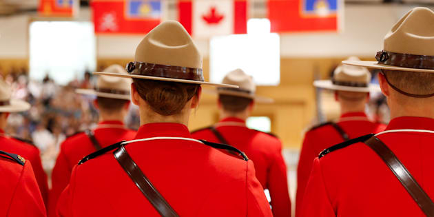Royal Canadian Mounted Police (RCMP) cadets.