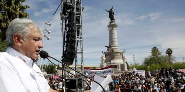 Andrés Manuel López Obrador inició en una de las regiones más complicadas para sus anteriores candidaturas.