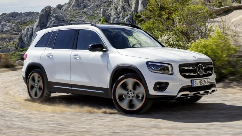 2020 Mercedes-Benz GLB-Class revealed with three rows of seats