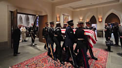 George H. W. Bush a été inhumé au
