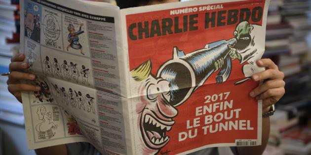 """Le numéro spécial de """"Charlie Hebdo"""" paru le 4 janvier 2017."""