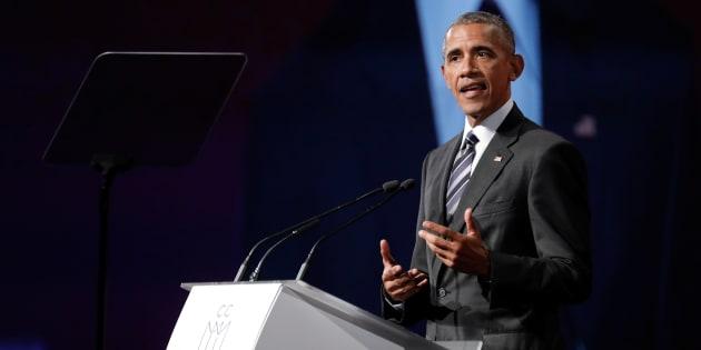 Obama va toucher près de 400.000 dollars pour un discours de 2 heures à Wall Street.