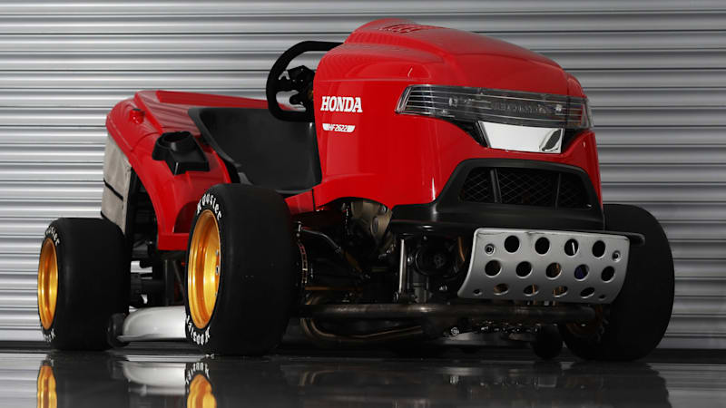 honda mean mower sounds mean aims for 150 mph speed autoblog. Black Bedroom Furniture Sets. Home Design Ideas