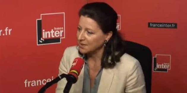 """Agnès Buzyn (ici sur France Inter ce jeudi 24 mai) dit avoir connaissance """"d'une dizaine d'affaires"""" comparables à celle de Naomi Musenga"""