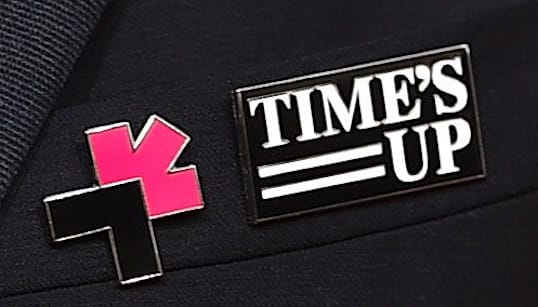 Time's Up Advocates To Debut New Ribbons, Bracelets At Golden