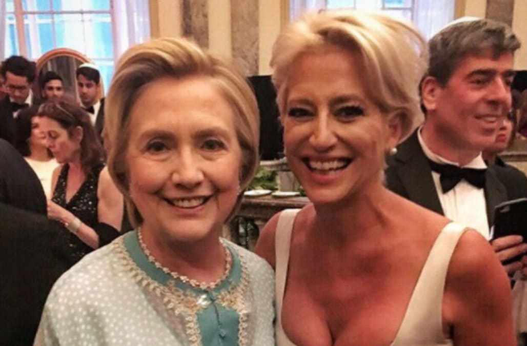 Hillary And Bill Clinton Attended A Star Studded Wedding In New York Over The Weekend Member Of Trump First Family Was Also Present