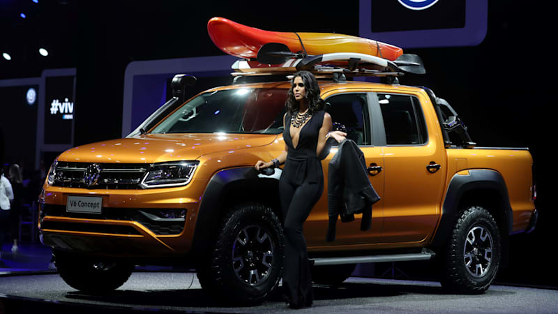 Build A Ford Truck >> Vw And Ford Will Collaborate On A Pickup Likely Based On The Ranger