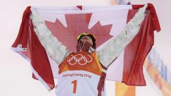 Mikael Kingsbury Wins Gold In Moguls At PyeongChang