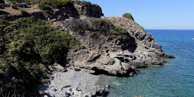 Photo de la crique à Sisco, en Corse, où a eu lieu la rixe en août 2016 ayant eu un retentissement national.