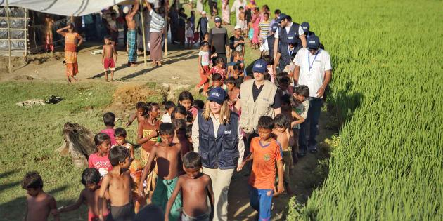 Un sopralluogo durante la mia prima permanenza in Bangladesh in occasione dell'inaugurazione della prima MOAS Aid Station a Shamlapur (Copyright MOAS Italia)