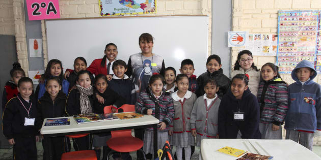 Con un abstencionismo notable, pocos alumnos regresaron a la escuela esta mañana después de que concluyó el periodo vacacional de invierno. En la Escuela Primaria Guadalupe Ceniceros de Zavaleta sólo se presentaron un promedio de 44 niños, el 7 de enero de 2016, en Ciudad de México.