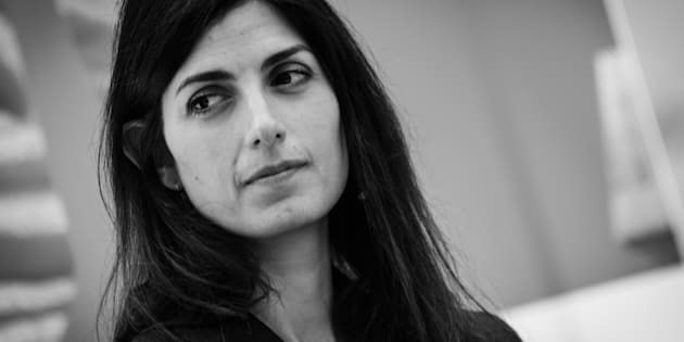 the Mayor of Rome Virginia Raggi during the  press conference to present the MIC, the new card to access the system of civic museums in Rome, for those who live and study in the city comes the Mic revolution, the new card at a cost of 5 euros for 12 months will allow unlimited entry into all civic museums on July 3, 2018 in Rome, Italy (Photo by Andrea Ronchini/NurPhoto via Getty Images)
