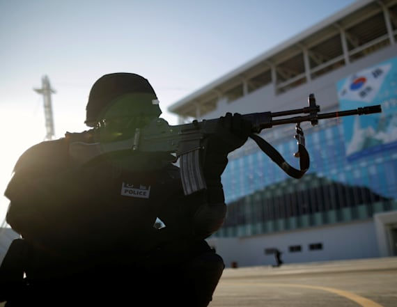South Korea conducts security drills ahead of Games