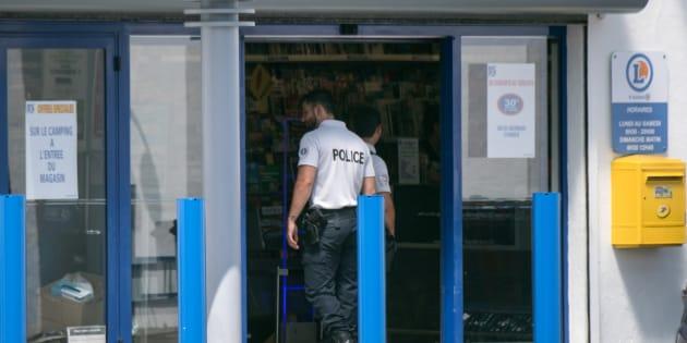 Le magasin Leclerc dans lequel une jeune femme a attaqué deux personnes avec un cutter, le 17 juin à La Seyne-sur-Mer.
