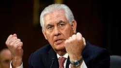 Senado de EU confirma a Rex Tillerson como secretario de