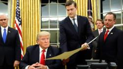 Un conseiller de Trump démissionne après des accusations de violences