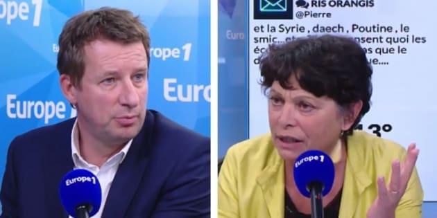 """Selon Yannick Jadot et Michèle Rivasi, l'ancienne ministre du Logement Cécile Duflot est une """"victime collatérale"""" de l'échec du quinquennat."""