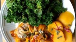 Vite fait, bien fait: Chou kale, potiron et boule
