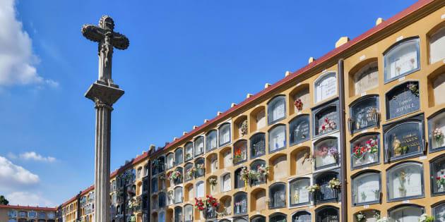 Cementerio de Les Corts, en Barcelona. John Greim/LightRocket (Getty Images)