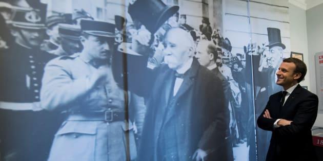 Emmanuel Macron et le symbole à double tranchant de Clemenceau, auquel il rend hommage en Vendée