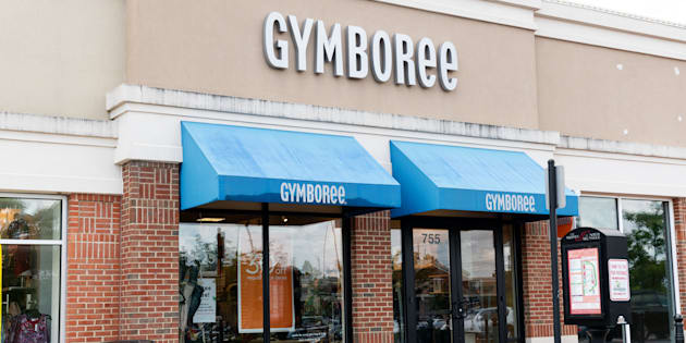 A Gymboree store in North Brunswick Township, N.J., Aug. 14, 2018. Gymboree has filed for bankruptcy protection for a second time in as many years.