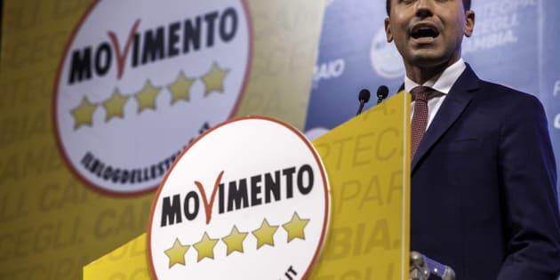 PALERMO, ITALY - 2018/02/26: Luigi Di Maio, Premier candidate, during the election campaign in Palermo. (Photo by Antonio Melita/Pacific Press/LightRocket via Getty Images)