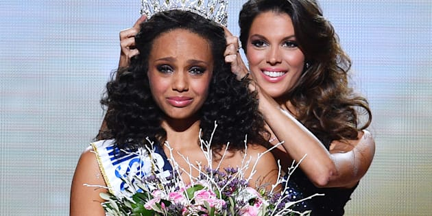 Alicia Aylies miss France 2017 et Iris Mittenaere.