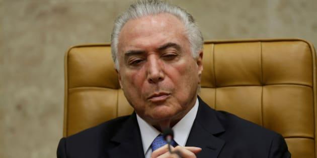 O inquérito, ao qual o presidente Michel Temer foi incluído, investiga repasse de R$ 10 milhões ao PMDB.